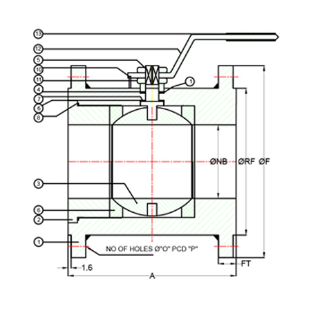 Find here online price details of companies selling Three Piece Ball Valve.