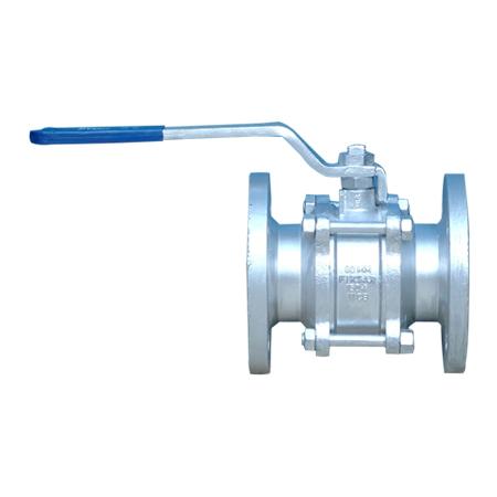 3 piece flanged end ball valve manufacturer