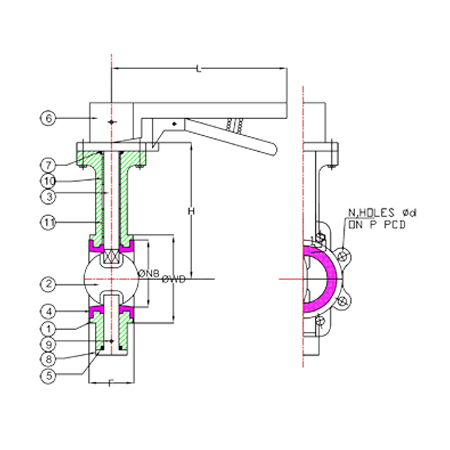 Manufacturer and Exporter in butterfly valves manufacturers India