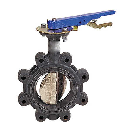 butterfly valve lug 150#