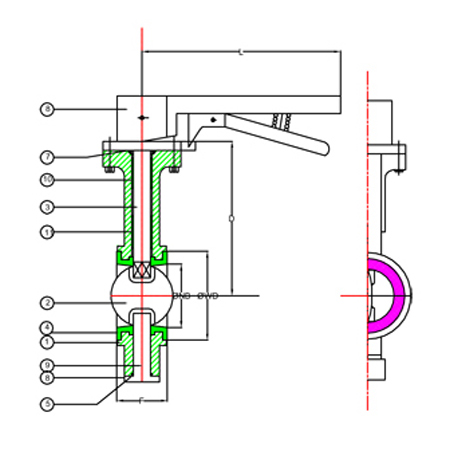 Get info of suppliers, manufacturers, exporters, traders of Wafer Butterfly Valve