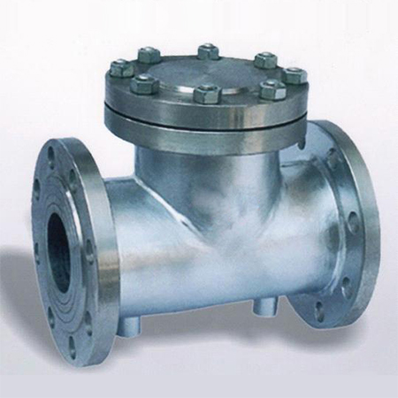 LIFT CHECK VALVE FULLY JACKETED 150