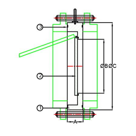 single plate non return valve