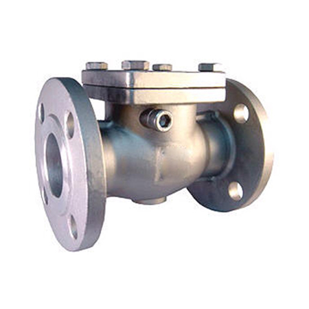 swing check valve full jacketed