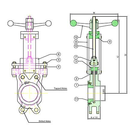 gate valve diagram manufacturers in india